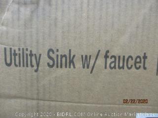 Utility Sink w/Faucet