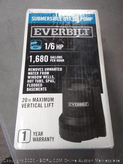 Everbilt 1/6 HP Plastic Submersible Utility Pump-SUP54-HD