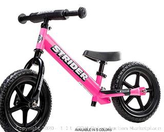Strider - 12 Sport Balance Bike, Ages 18 Months to 5 Years - Pink (Online $106)
