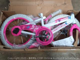 haptoo 16 in butterfly bicycle pink