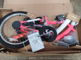 WeeRide Co-Pilot Bike Trailer, Pink (missing wheel)