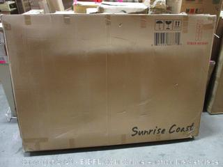 Sunrise Coast Geneva Fabric Futon