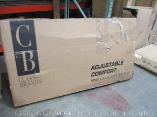 Classic Brands  Adjustable Comfort King Adjustable Bed Base