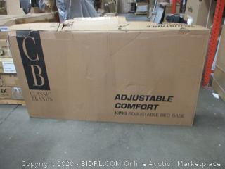 Classic Brands King Adjustable Bed Base