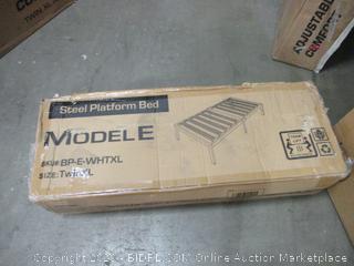 steel Platform Bed Twin XL