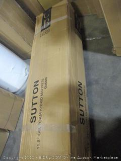 sutton 11.5 Gel Foam Mattress Queen