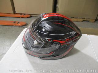 1Storm- Motorcycle Helmet- Arrow Red- M