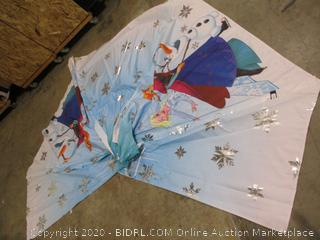 Disney- Frozen- Blue Play Tent (1 pole broken, please see picture)