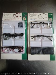 DesignOptics by Foster Grant Reading Glasses +2.00