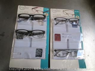 DesignOptics Foster Grant Reading Glasses +1.75
