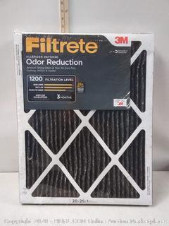 Filtrete 20x25x1, AC Furnace Air Filter, MPR 1200, Allergen Defense (2 pack) (Factory Sealed)  online $32