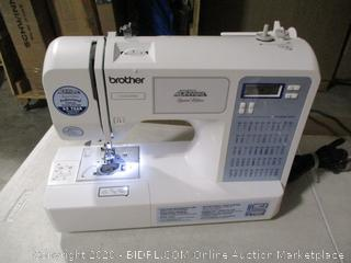 Brother - Project Runway CS5055PRW Electric Sewing Machine