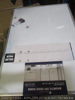Magnetic Dry erase Board  damaged