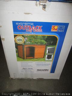 Extreme Outback Log Cabin  for dogs
