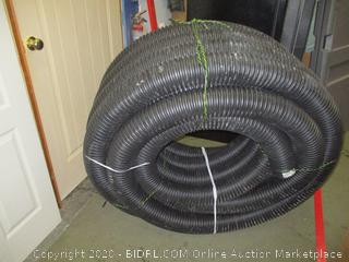 """Advanced Drainage Systems 04510100 Solid Singlewall Pipe, 4"""" x 100'"""