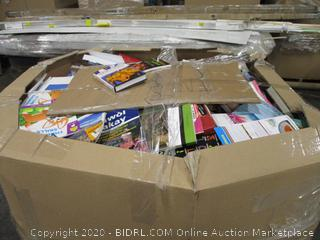 Pallet Of Mixed Books
