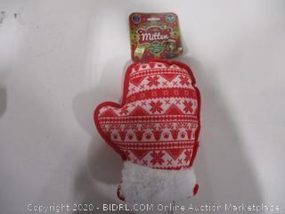 Holiday Mitten Chew Toy