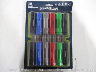 Magellan 12pk LED Flashlights