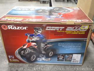 Razor Dirt Quad Youth Sport Electric Off-Road Quad