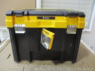 Dewalt - Tstak Toolbox (Cracked, See Pictures)