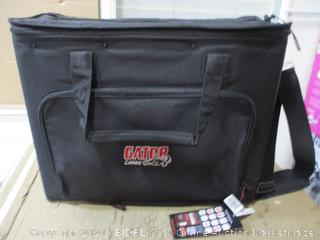 "Gator Cases Portable 4U Rack Bag With 14"" Rackable Depth ($119 Retail)"