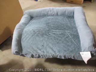 "FurHaven- Suede Sofa Orthopedic Pet Bed- Deep Pool- JM (35"" x 44"")"