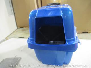 Van Ness - Large Enclosed Cat Litter Pan