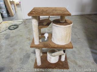 Multi-Level Cat Scratching Post