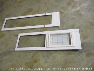 Modular Pet Patio Door (Medium Flap Size)