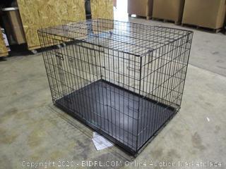 "AmazonBasics - Double Door Folding Metal Dog Crate (42"")"