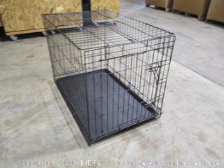 "Amazonbasics- Folding Metal Dog Crate (22"" x 36"")"