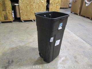 Rubbermaid- Roughneck - Wheeled Trash Can (missing lid)