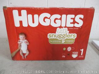 Huggies Diapers (See Pictures)