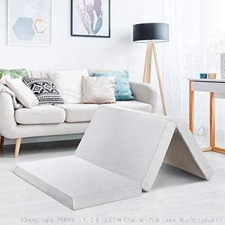 Best Price Full 4 inch tri fold memory foam mattress(Retails $140)