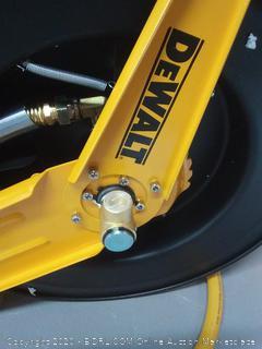 DEWALT 1/2 in. x 50 ft. Double Arm Auto Retracting Air Hose Reel(Retails $131)