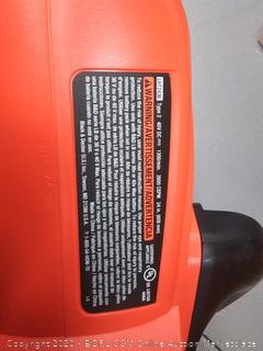 BLACK+DECKER 40-Volt Lithium-Ion Electric Cordless Hedge Trimmer( Retails $109)
