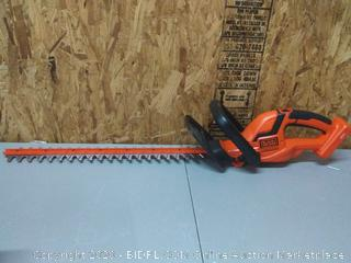 BLACK+DECKER 40-Volt Lithium-Ion Electric Cordless Hedge Trimmer( Retails $109)