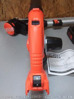 BLACK+DECKER 40V Max Cordless Sweeper & String Trimmer Combo Kit (LCC340C)(Retails $127)