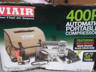 Viair 400P-Automatic Portable Air Compressor 12 Volt, Model# 40045(Retail $249)
