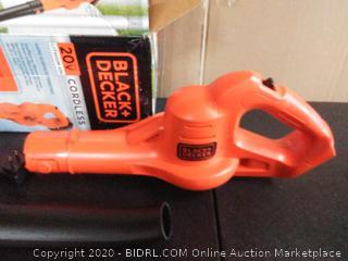 Black & Decker 20V lithium-ion cordless leaf blower