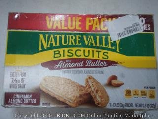 Nature Valley Biscuits with almond butter value pack