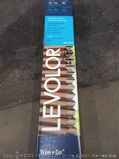 Levolor cellular shade room darkening toffee color