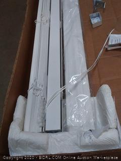 Levolor white vinyl blinds