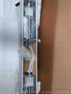Levolor white faux wood blinds