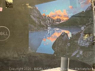 Dell U-Series 32-Inch Screen LED-Lit Monitor (U3219Q), Black (powers on) (Retail $693)