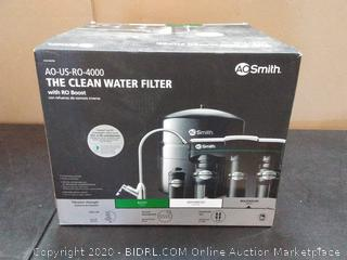 AO Smith the clean water filter with ro boost (AO-US-RO-4000)