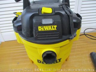 DeWalt Wet/Dry Vac