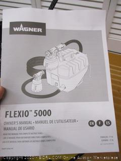 Wagner Spraytech 0529091 FLEXiO 5000 Stationary HVLP Paint Sprayer