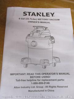 Stanley Wet/Dry Vac