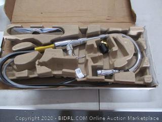 KOHLER 596-CP Simplice Kitchen Faucet (RETAIL$168)